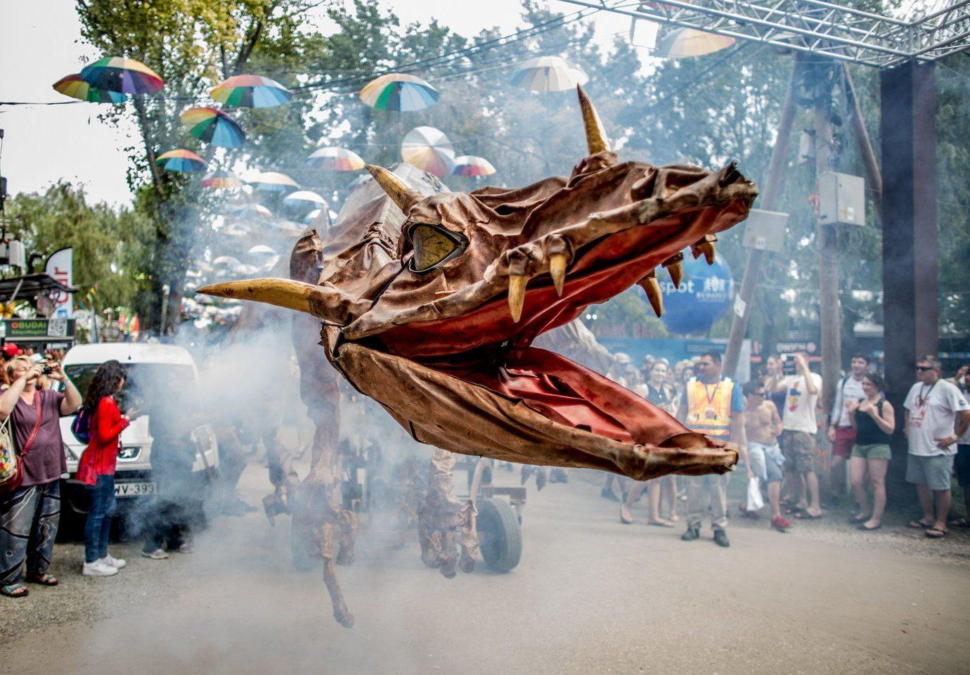 Arts + Culture outdoor amusement park art vehicle park sculpture festival carnival