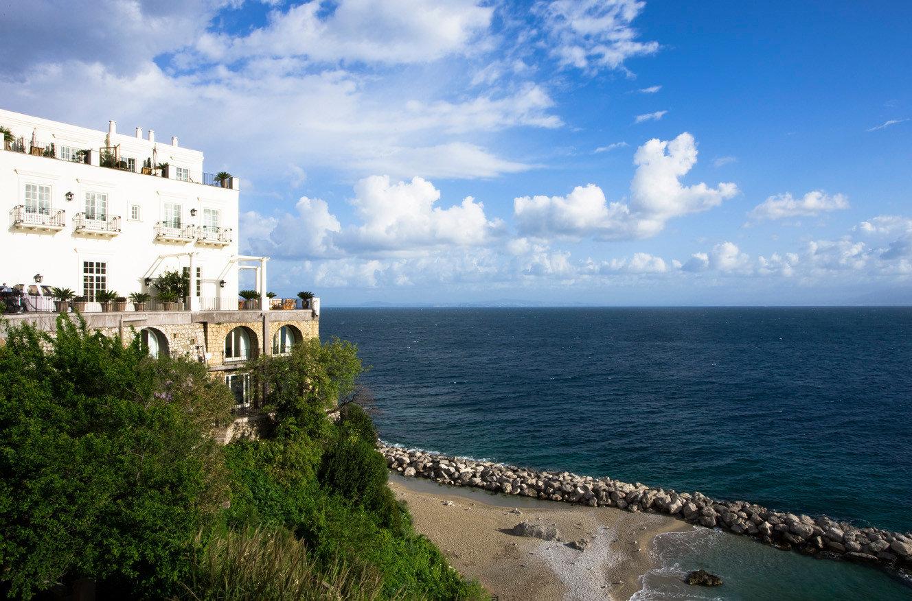 Ocean view from J.K. Place Capri