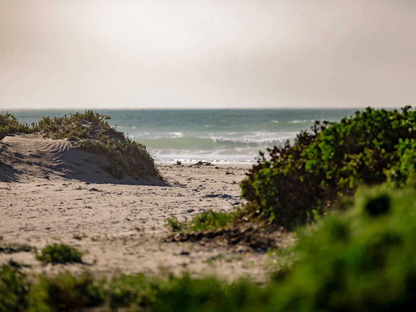 Trip Ideas outdoor body of water Sea Nature sky shore Coast Beach water Ocean tree sand grass horizon landscape rock