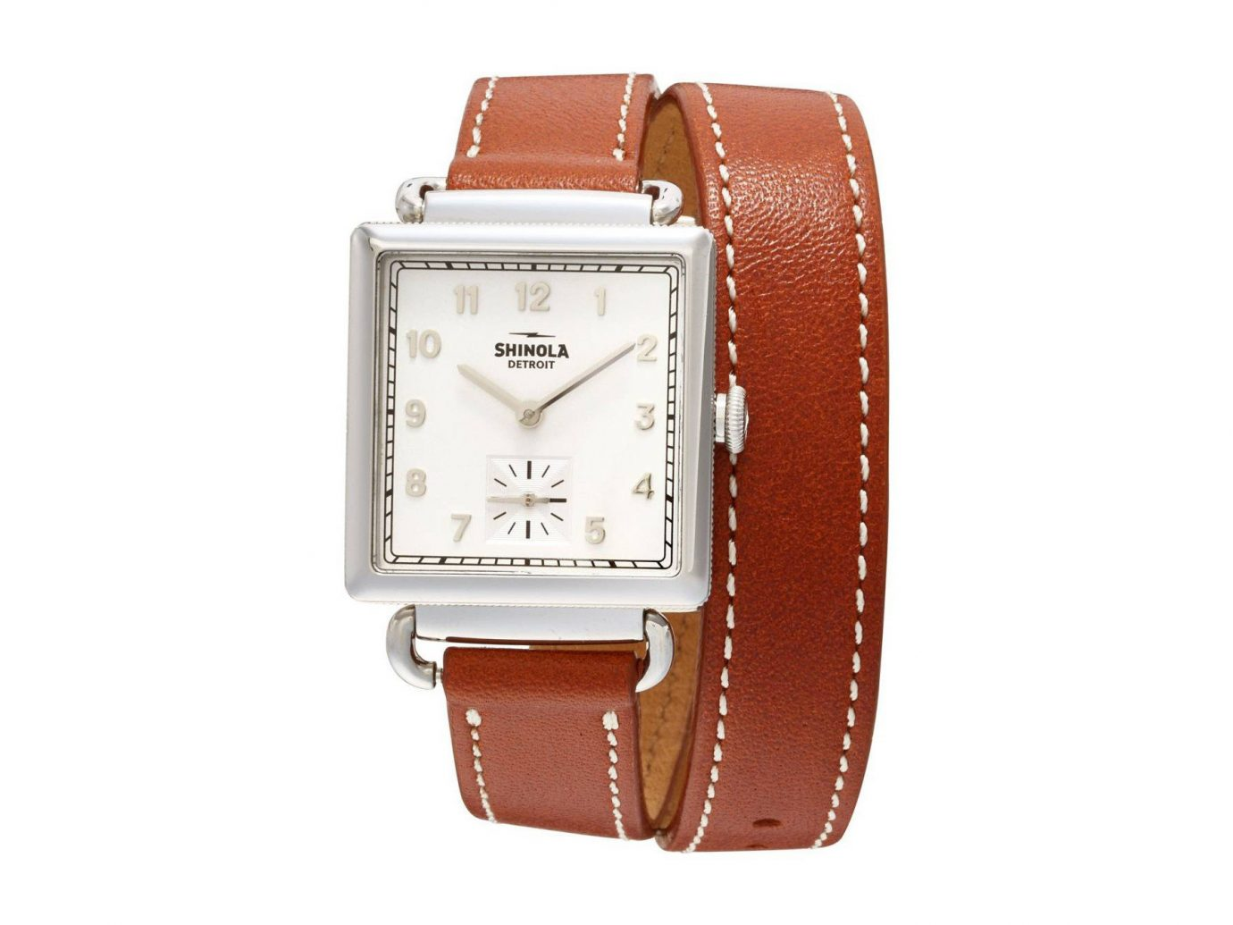 shopping Style + Design watch watch accessory strap indoor brown watch strap product metal product design brand rectangle font