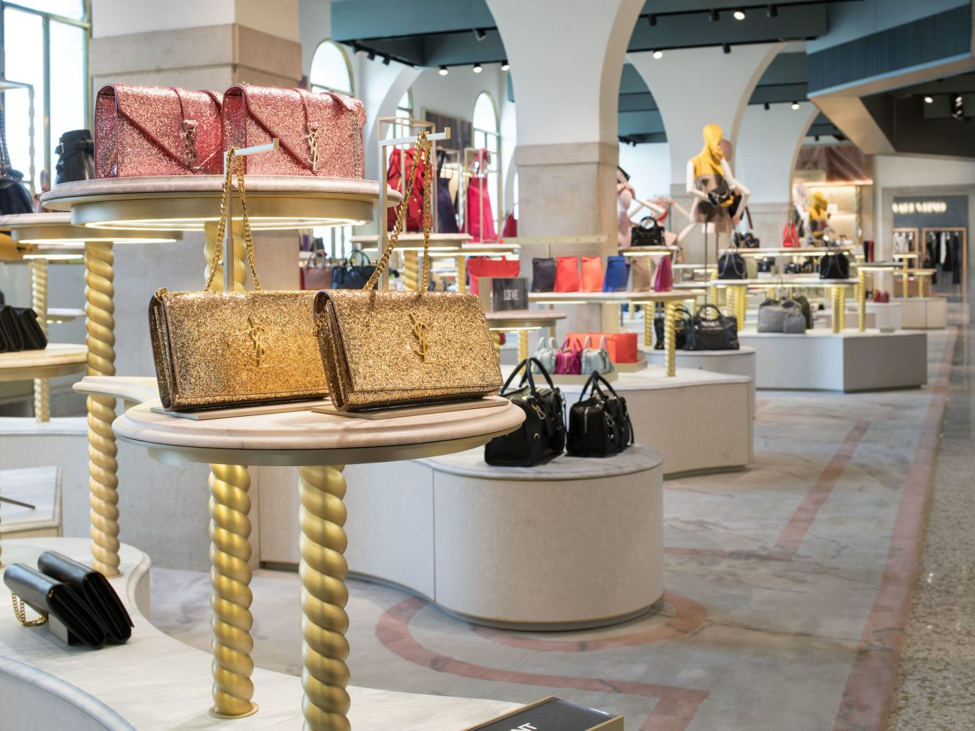 shopping Style + Design Travel Trends Trip Ideas indoor shoe store retail interior design bakery outlet store Boutique