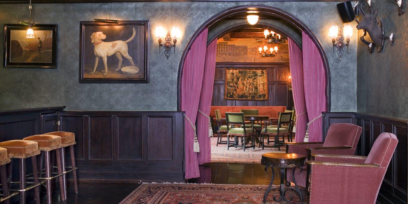 Offbeat floor indoor chair room building Lobby estate interior design restaurant Bar recreation room home living room mansion furniture dining room
