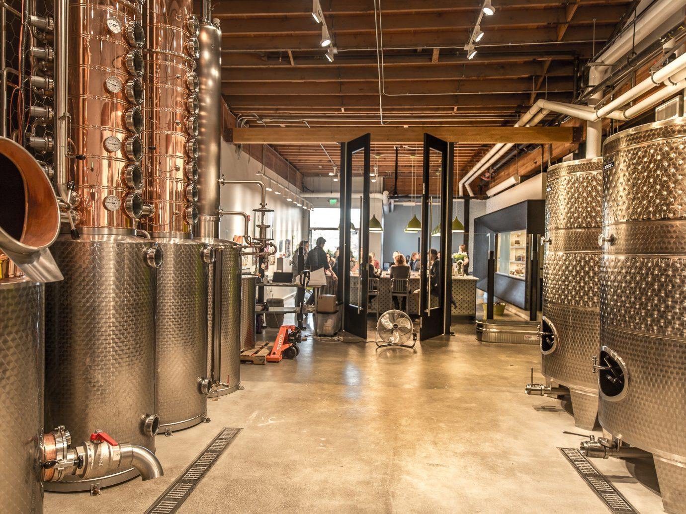 Food + Drink indoor floor room Winery interior design tourist attraction basement