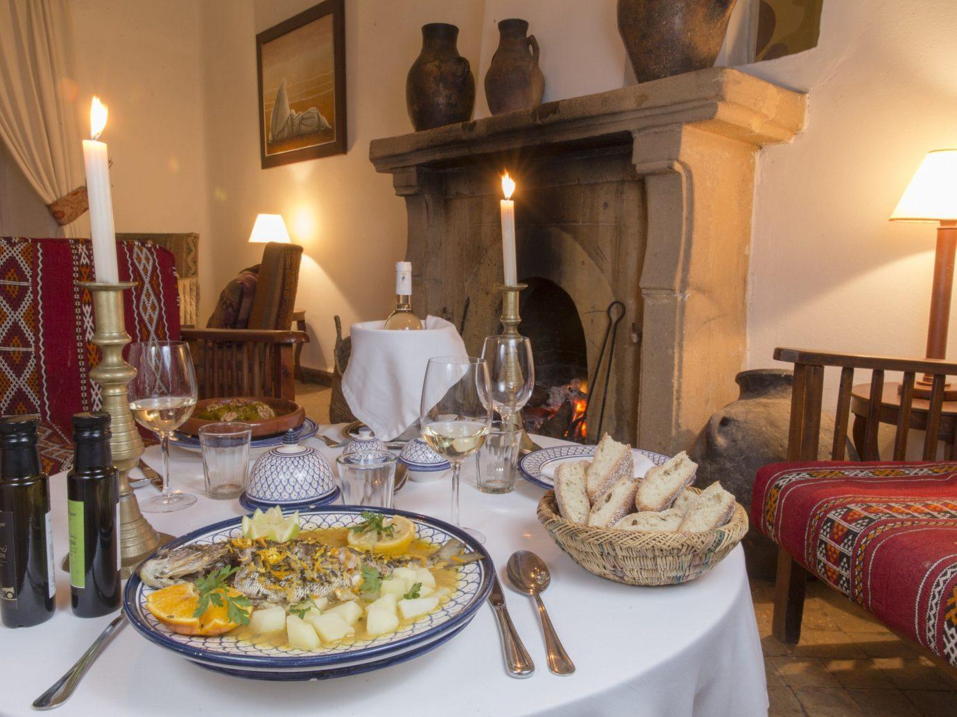 Trip Ideas table plate indoor room meal restaurant estate home interior design Drink dinner set dining table