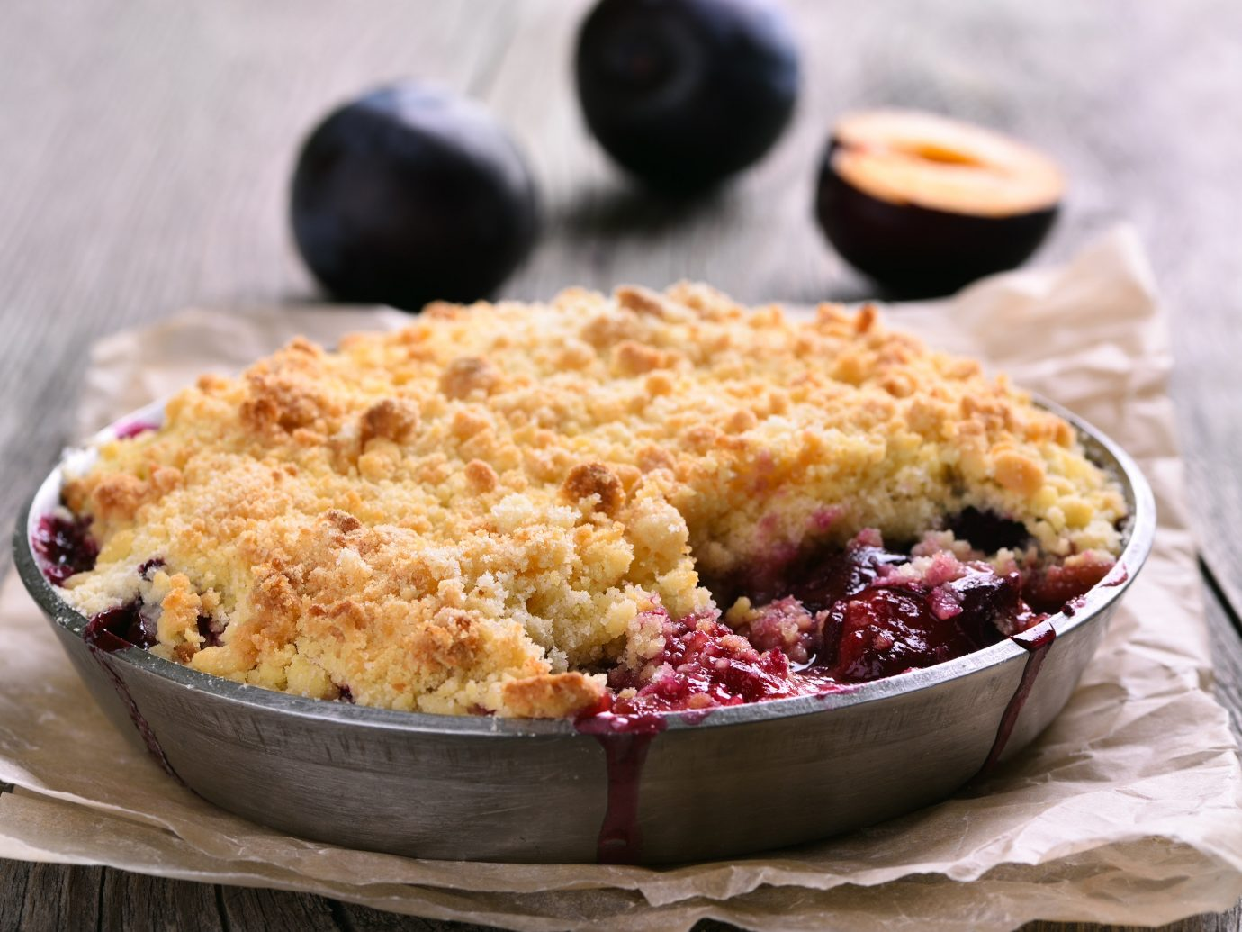 Trip Ideas food table dish berry plate indoor produce plant fruit dessert crumble land plant baked goods breakfast cranberry cherry pie flowering plant meal blueberry