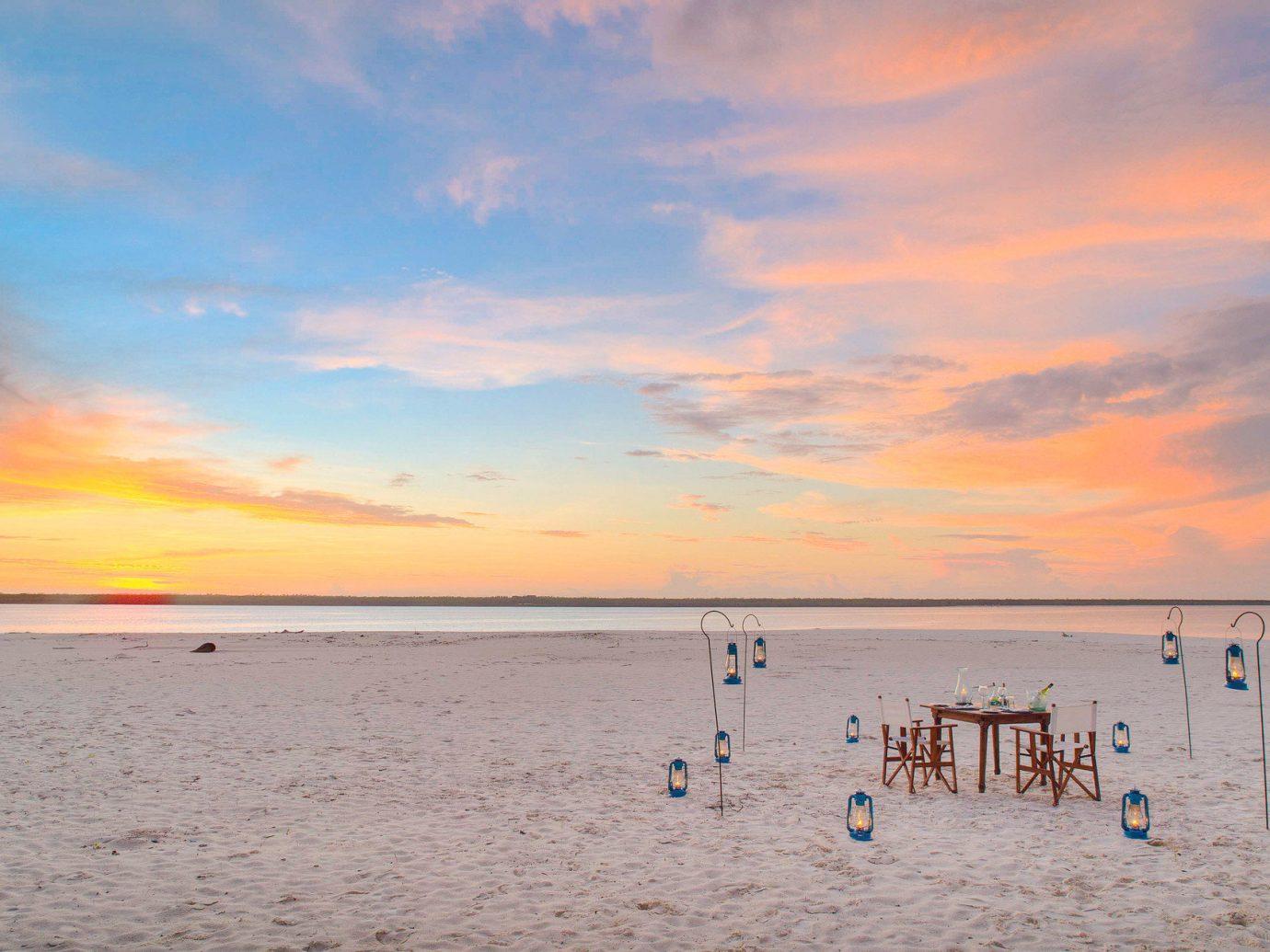 Beach at andBeyond Mnemba Island, Zanzibar