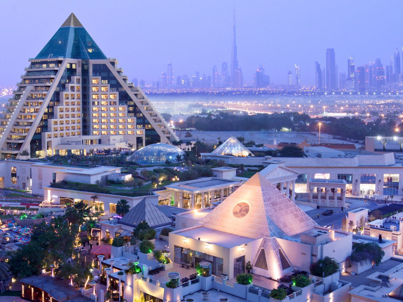 Architecture Buildings City Dubai Exterior Hotels Luxury Travel Middle East outdoor sky landmark building cityscape Town metropolis human settlement tourism Resort skyline Downtown tower day several
