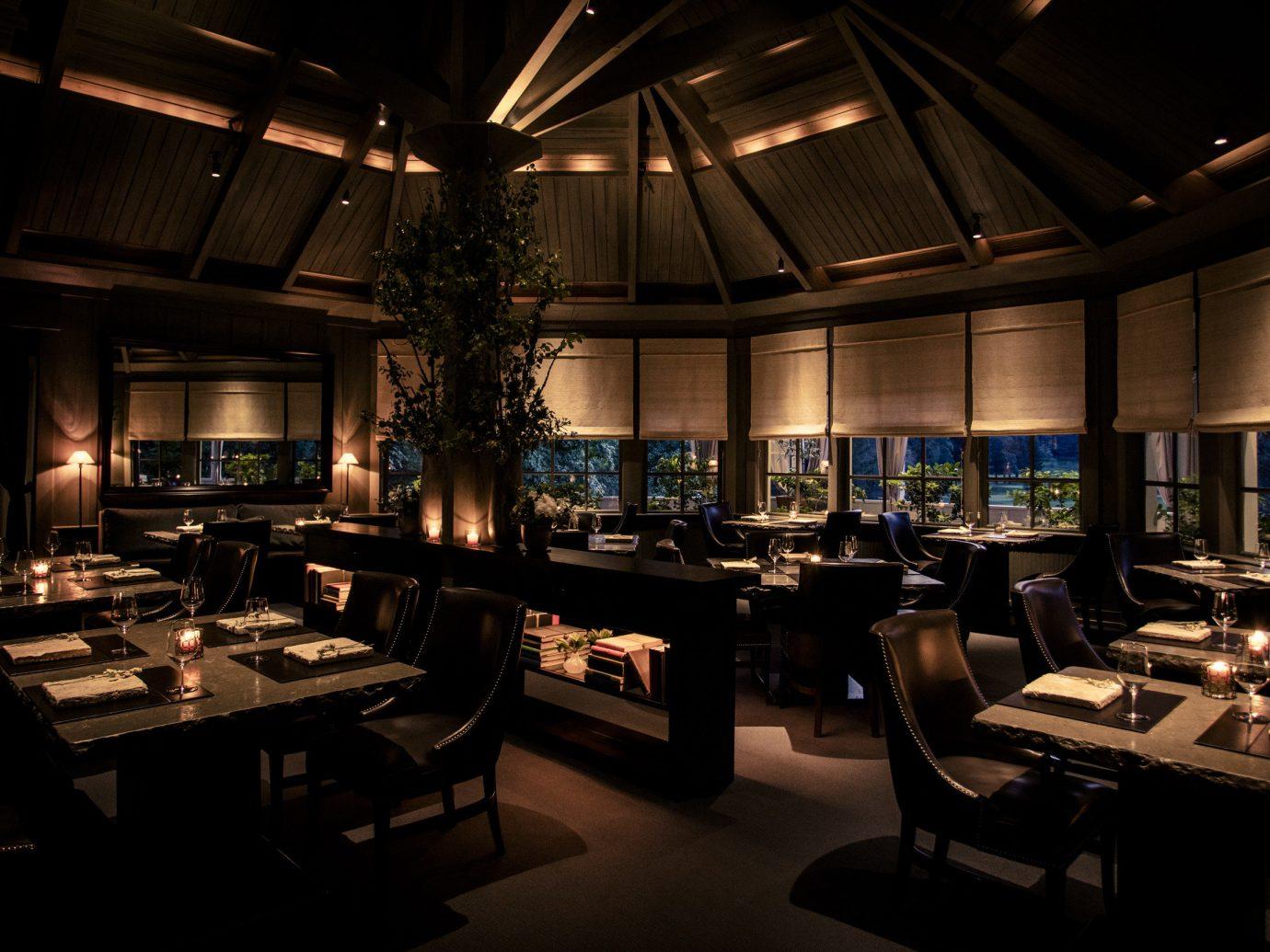 Hotels Romance Spa Retreats Trip Ideas indoor ceiling table restaurant room interior design function hall Island furniture Bar several