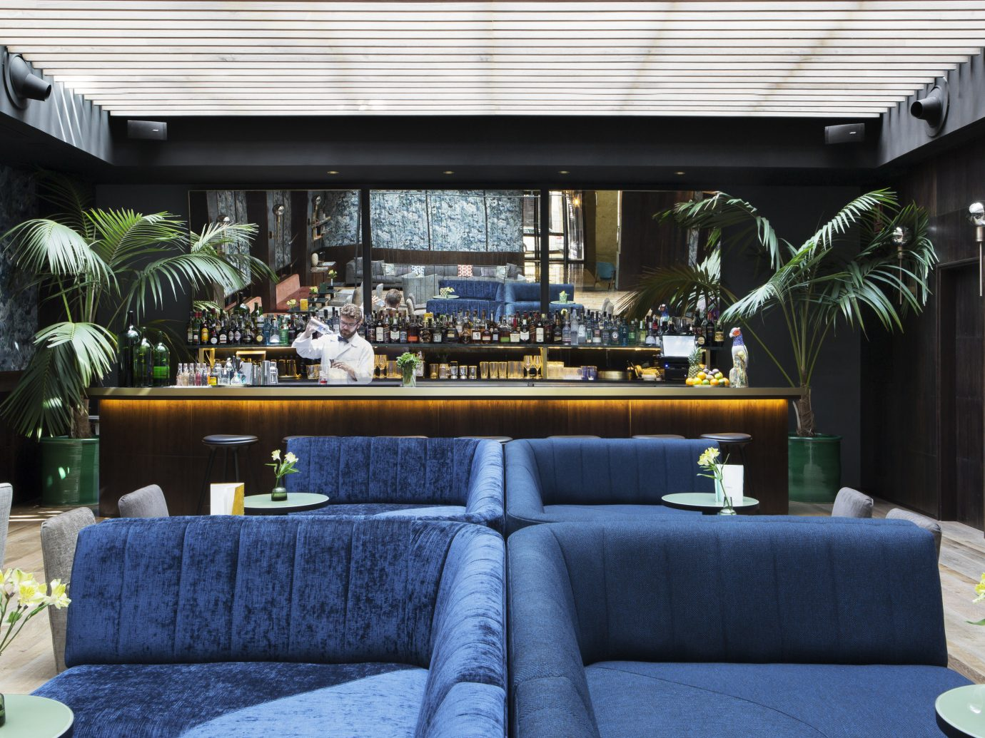 Hotels Madrid Spain window Living indoor Lobby room living room estate home interior design Design restaurant window covering furniture sofa