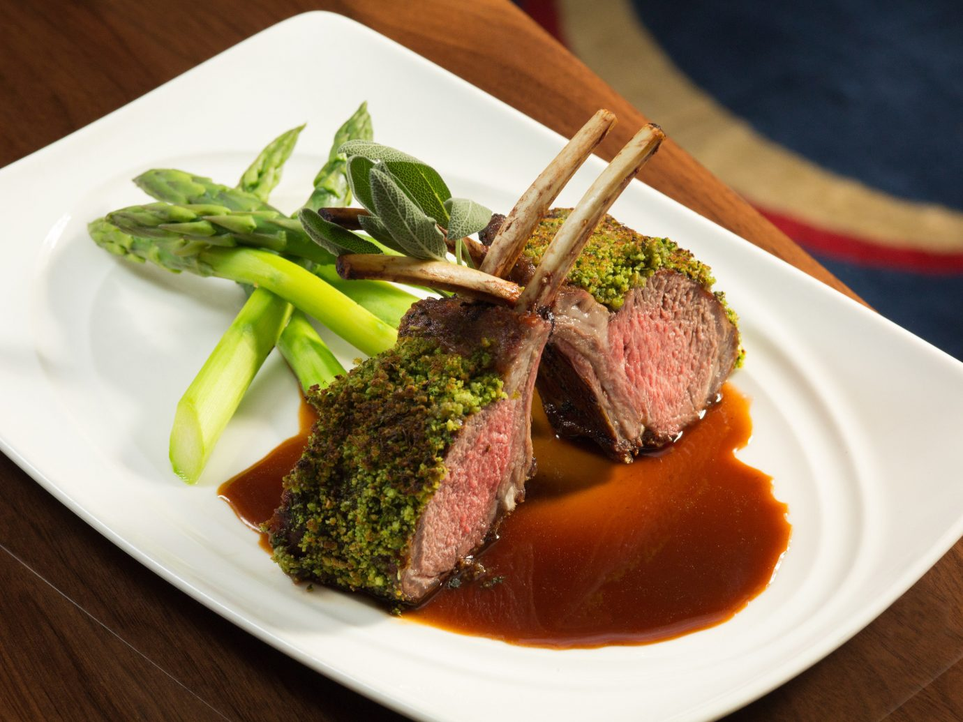 Food + Drink plate table food dish meat cuisine produce meal steak vegetable piece de resistance