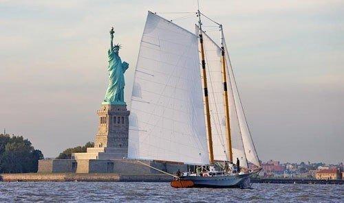 Arts + Culture sky outdoor watercraft transport water Boat vehicle sailboat sail sailing ship sailing vessel ship tall ship sailing schooner mast lugger windjammer