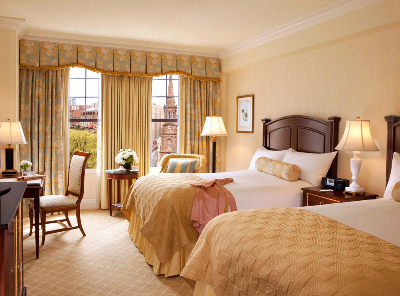 Bedroom City Classic Hotels Living Resort Scenic views Trip Ideas indoor wall room bed floor hotel ceiling window property Suite estate interior design home living room real estate cottage apartment furniture