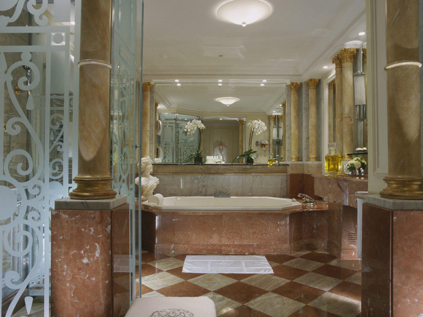 Hotels Luxury Travel indoor room Lobby interior design ceiling estate real estate floor flooring
