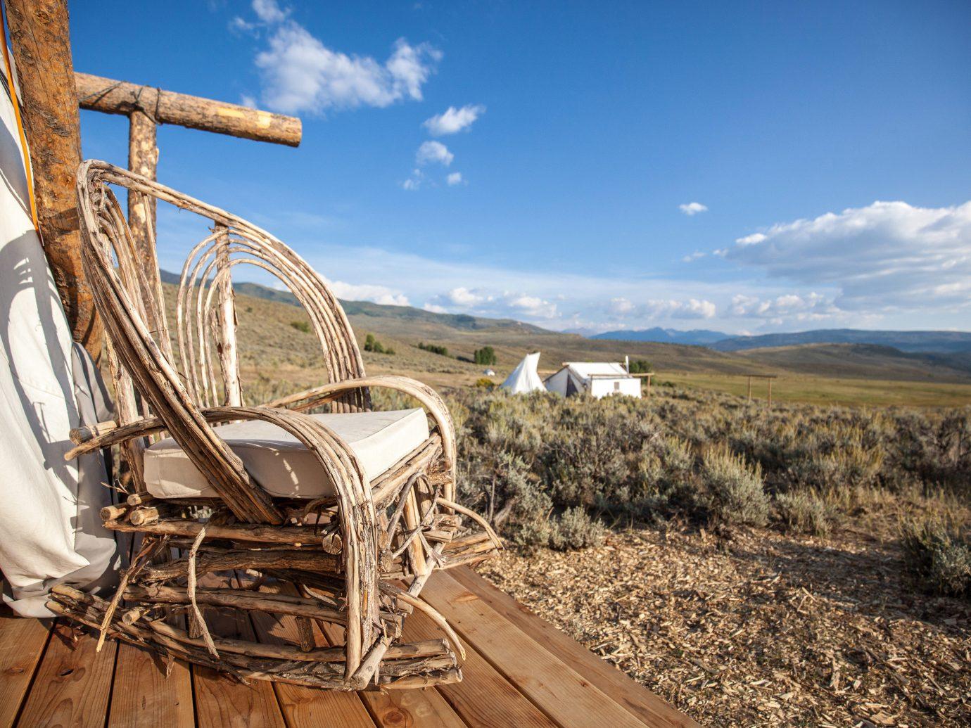 Glamping Outdoors + Adventure Weekend Getaways sky outdoor rural area vehicle agriculture