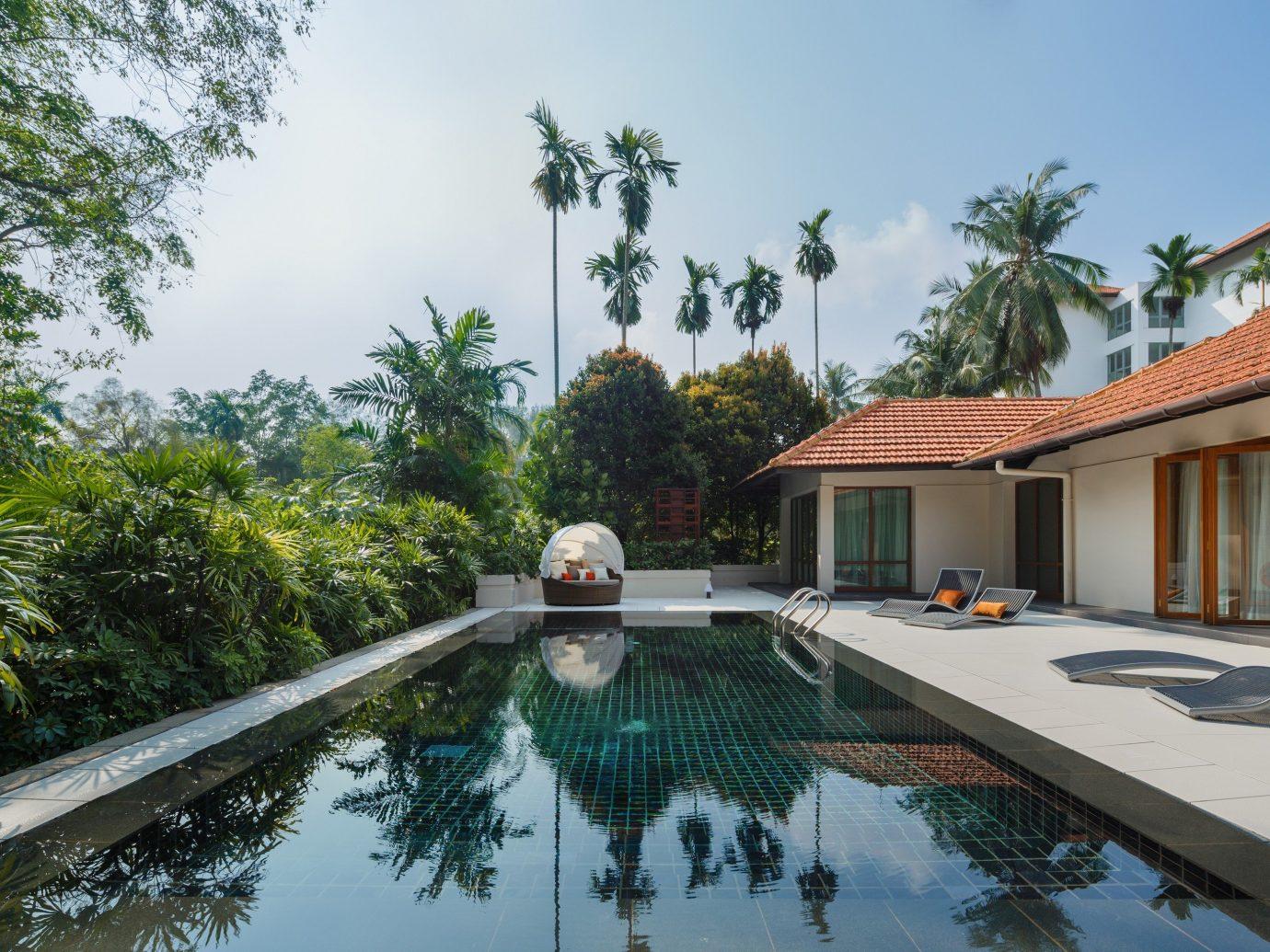 Hotels Romance tree sky outdoor swimming pool property leisure Resort estate vacation Villa real estate condominium mansion