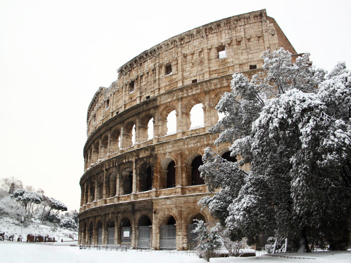 Boutique Hotels Romance Trip Ideas outdoor building snow Winter landmark historic site ancient history tourist attraction freezing medieval architecture tree history stone facade sky Ruins