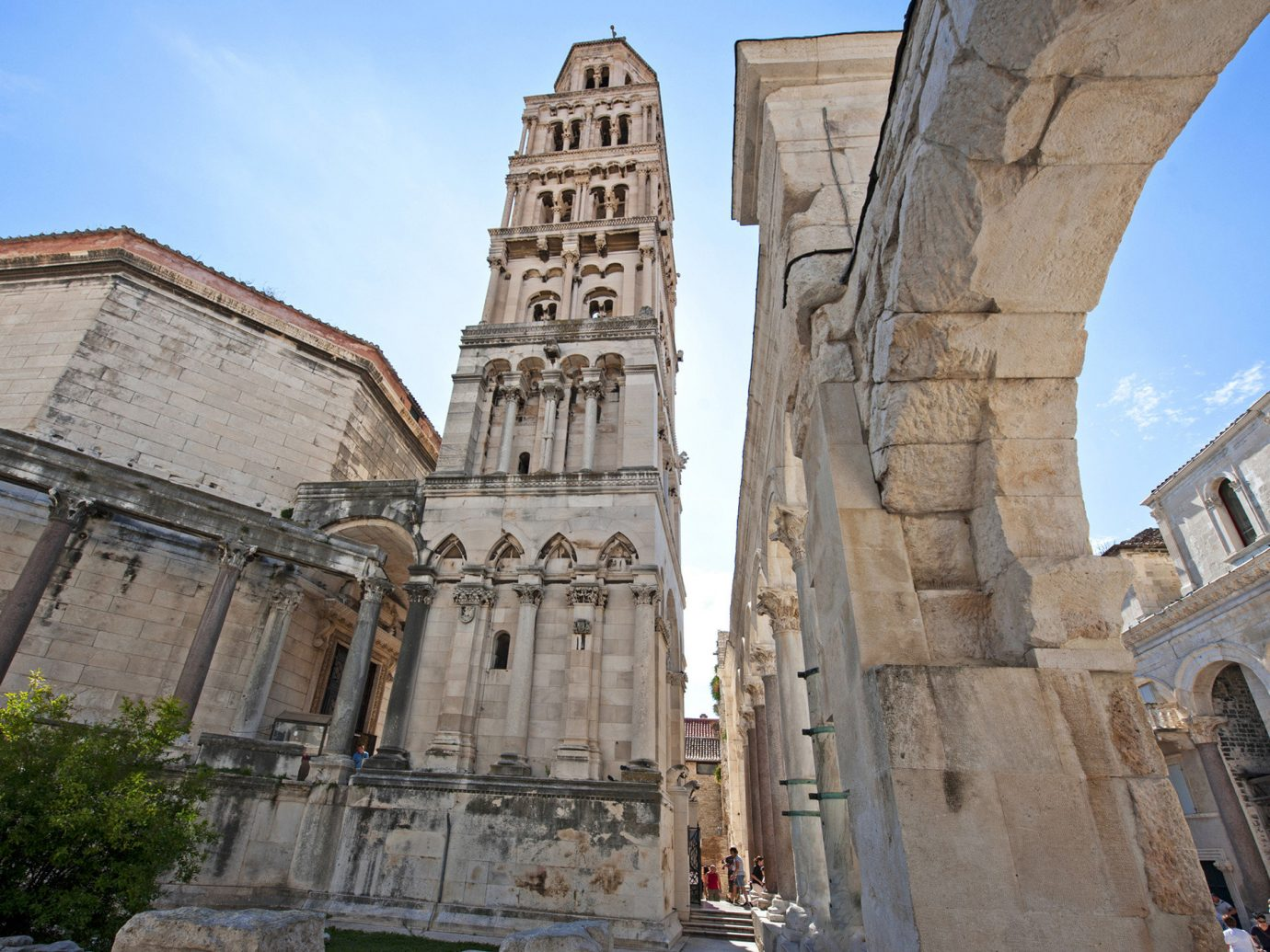 Travel Tips Trip Ideas building outdoor sky Church historic site landmark stone Architecture ancient history ancient roman architecture tourism cathedral old place of worship Ruins facade ancient rome arch monument basilica history tall