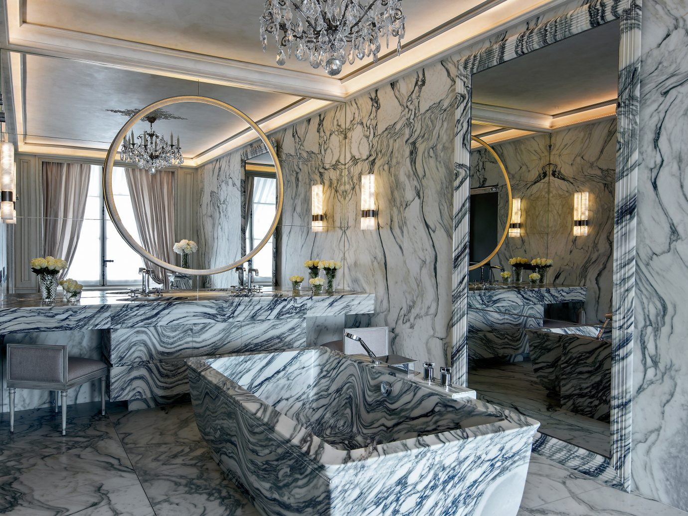 Hotels Luxury Travel indoor bed Architecture room interior design Bedroom home window house ceiling facade stone furniture