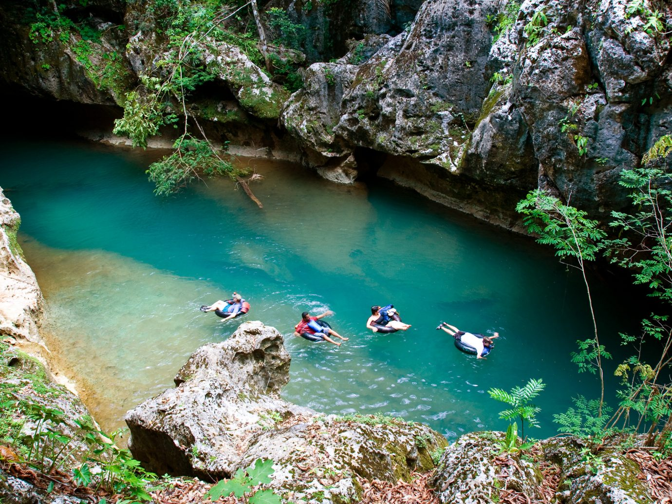 Swimming hole at Ka'ana Resort, San Ignacio, Belize