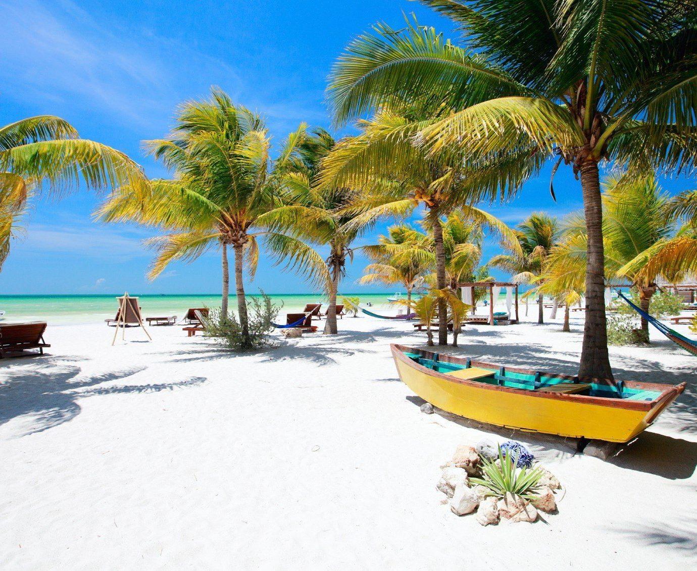Secret Getaways Trip Ideas tree outdoor water palm Beach Resort leisure caribbean vacation arecales Pool Sea Lagoon bay tropics Island plant shore lined sandy
