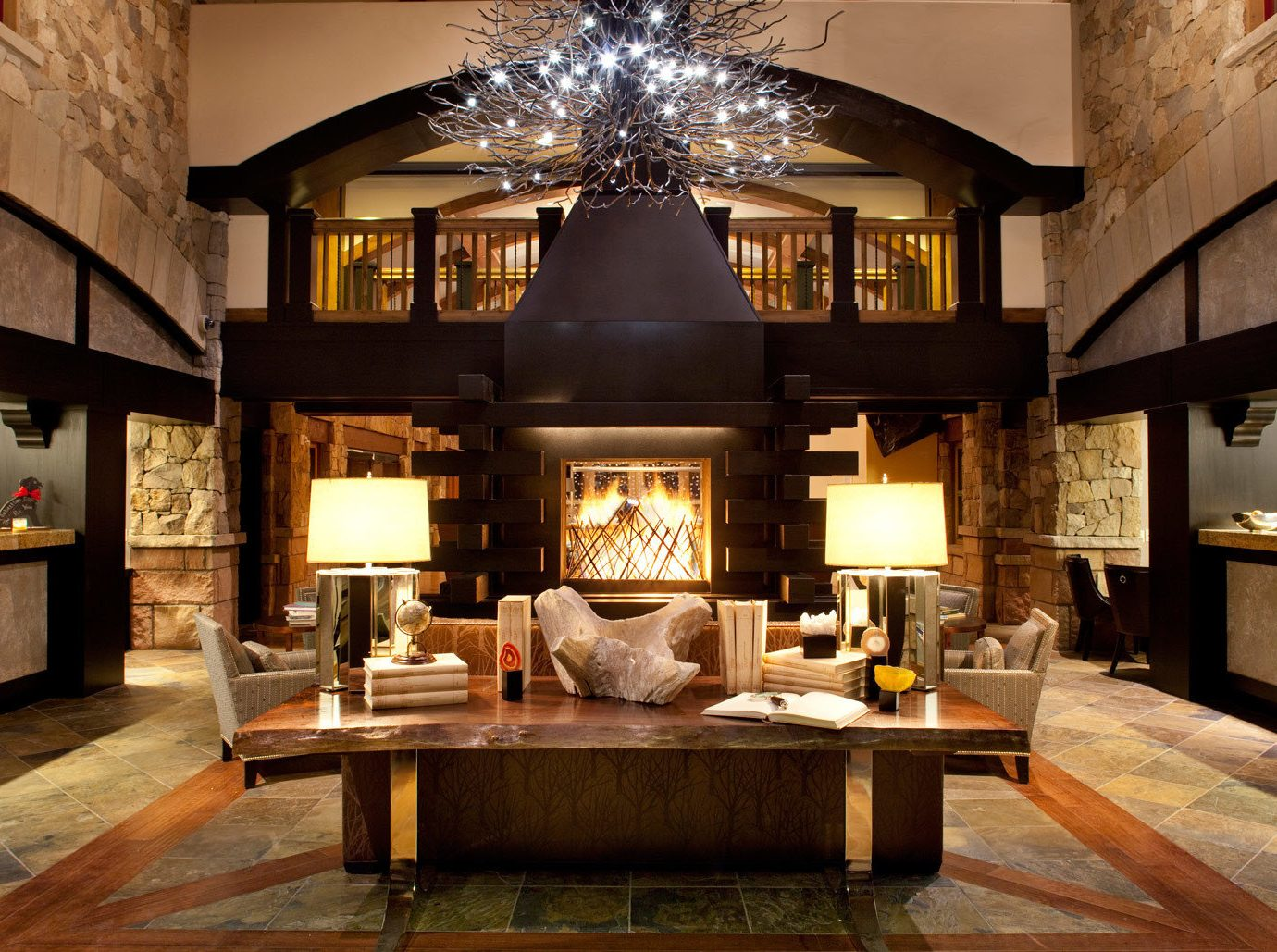 Hotels indoor floor living room room property estate home house interior design mansion Lobby wood Design ceiling Fireplace Villa farmhouse