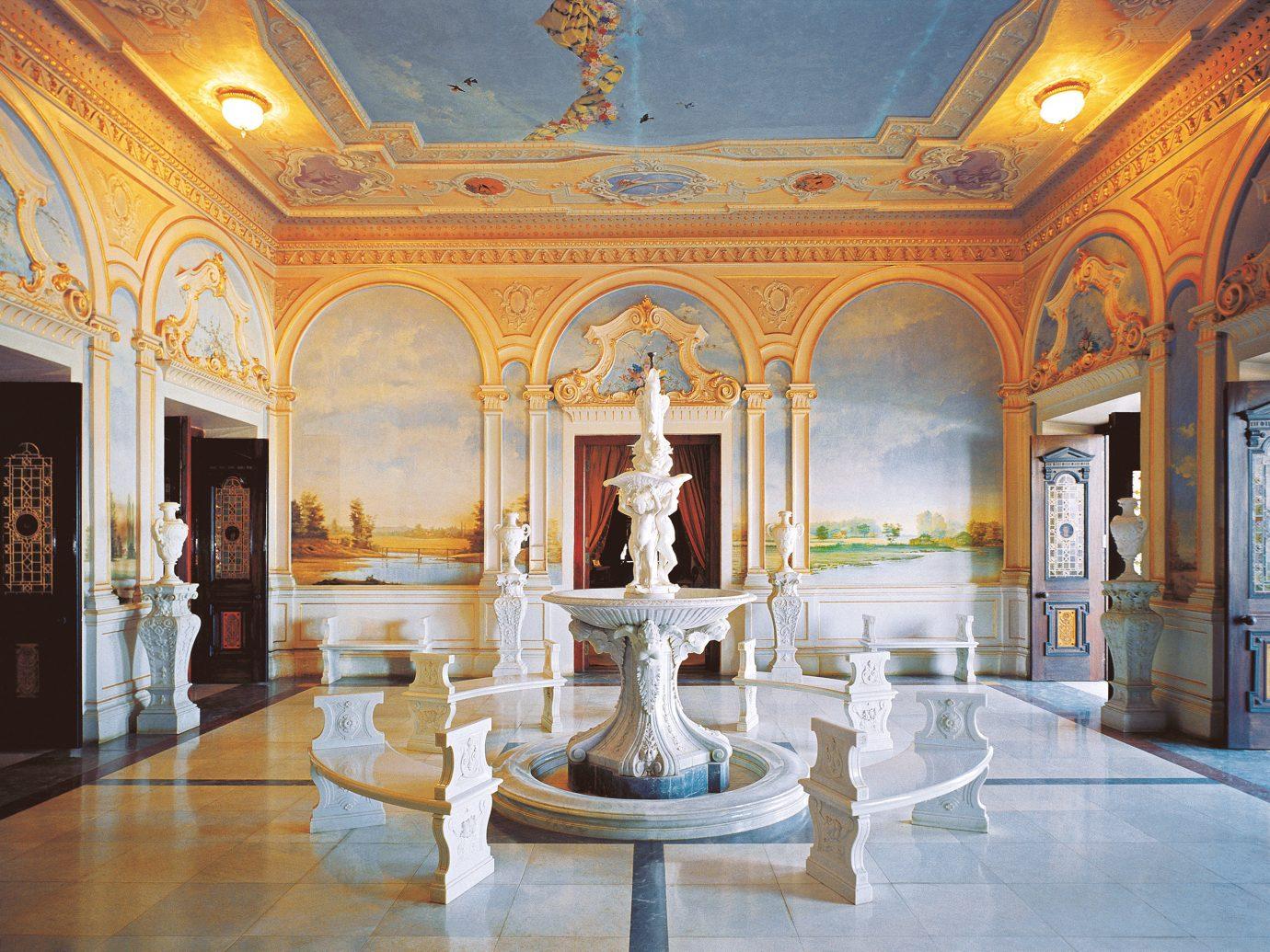 Design Elegant Hotels Luxury indoor Lobby estate building palace mansion interior design tourist attraction ballroom art gallery colonnade