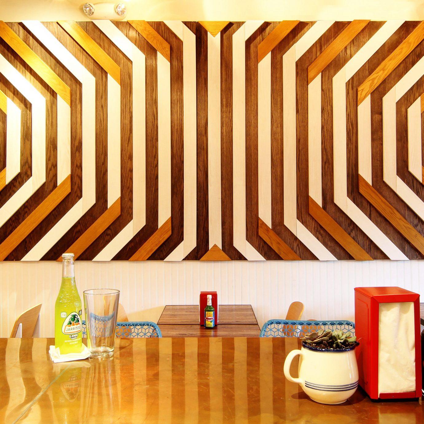 Food + Drink floor interior design Design ceiling window covering