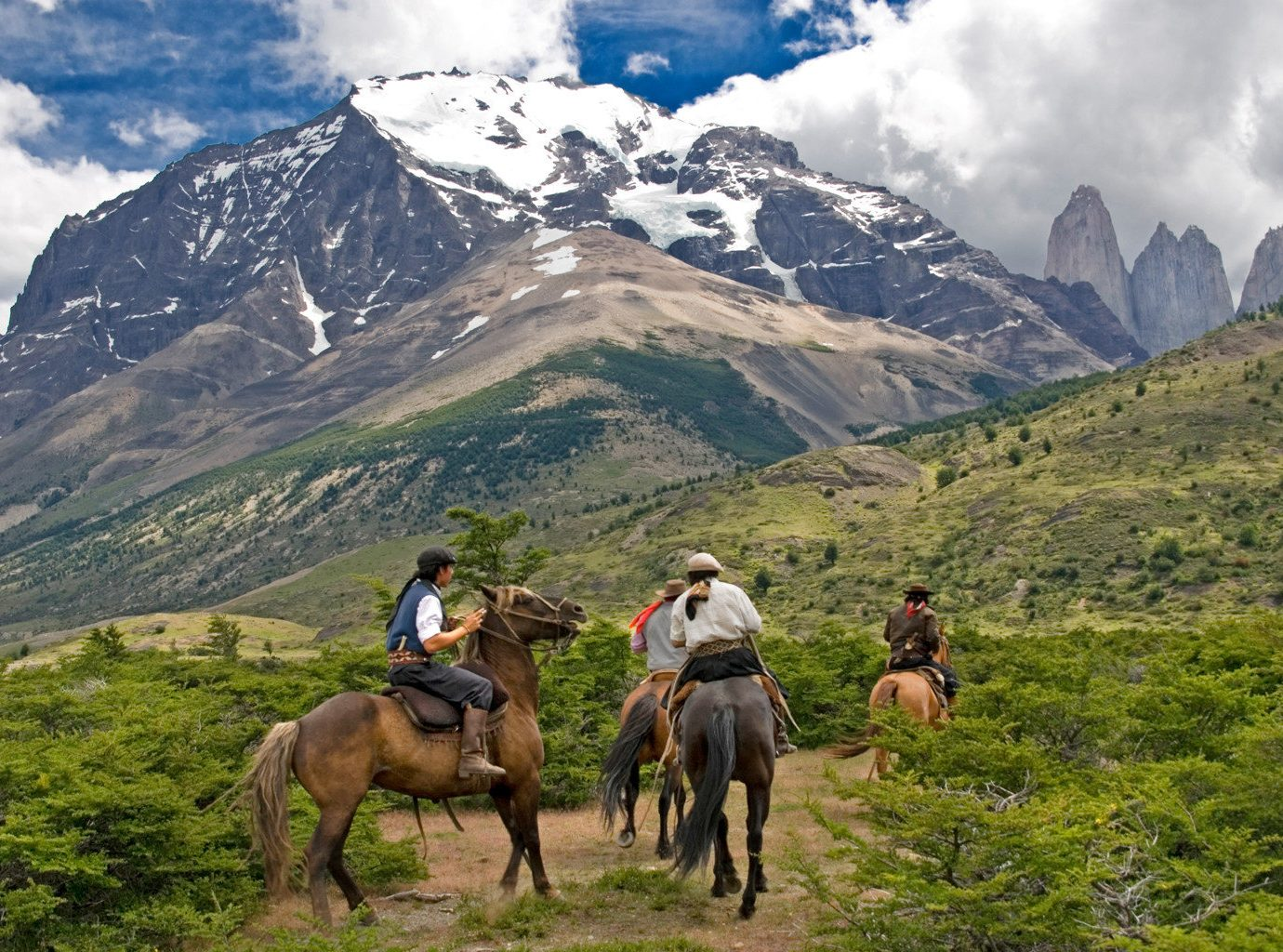 Adventure Mountains Outdoor Activities Outdoors Scenic views Sport mountain sky outdoor grass mountainous landforms landform wilderness mountain range pasture Nature backpacking walking landscape sports trail riding hiking valley alps plateau meadow hillside highland
