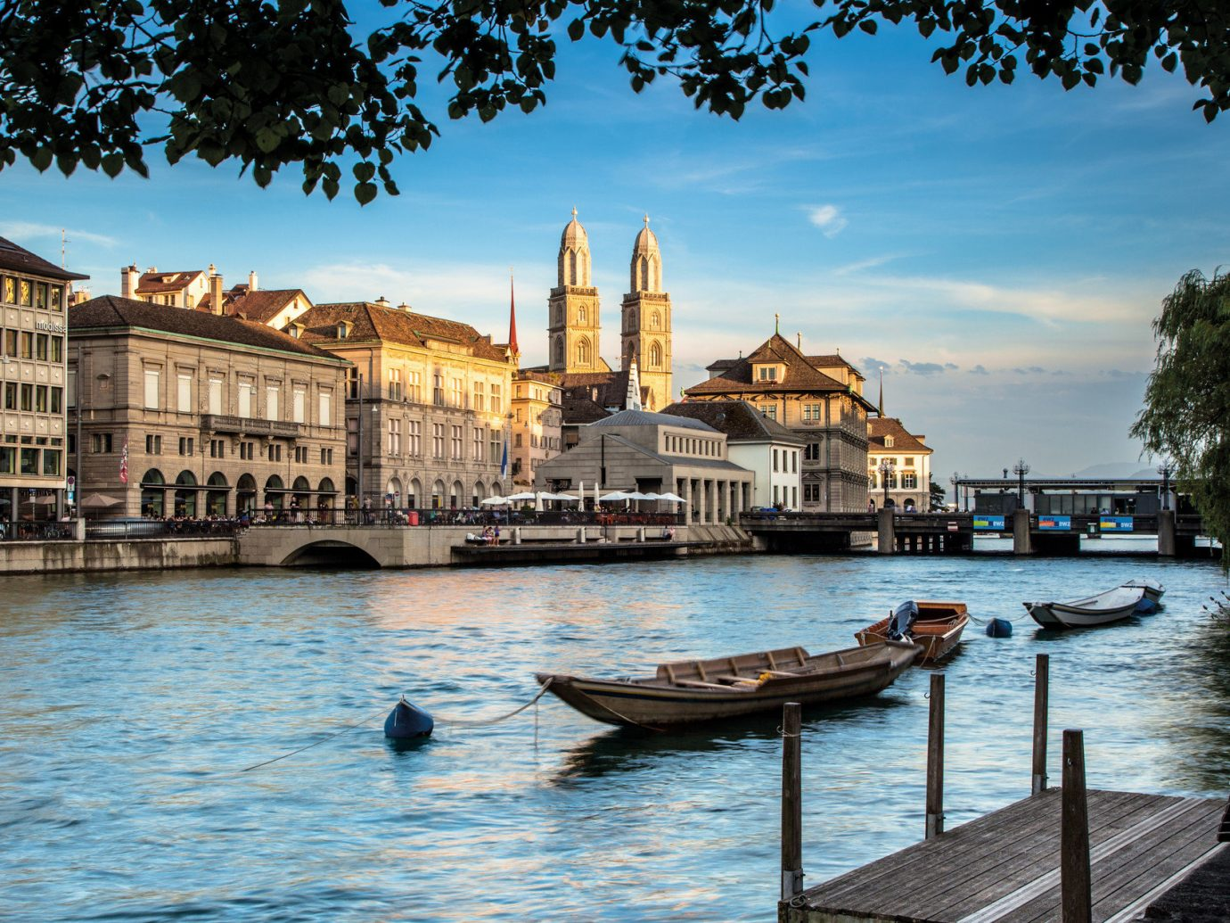 Architecture Boats Buildings City city views Waterfront water outdoor sky Boat scene landmark Town River vacation tourism reflection vehicle Sea evening Harbor cityscape waterway palace bay travel dock several