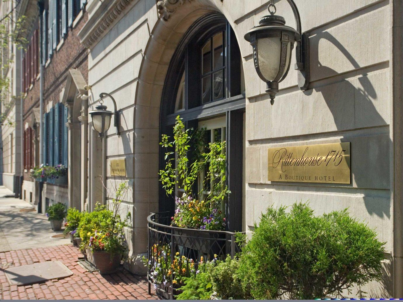 Boutique Boutique Hotels Classic Elegant Exterior Historic Hotels Inn Philadelphia building outdoor property Architecture facade Courtyard home estate arch window mansion chapel stone Garden