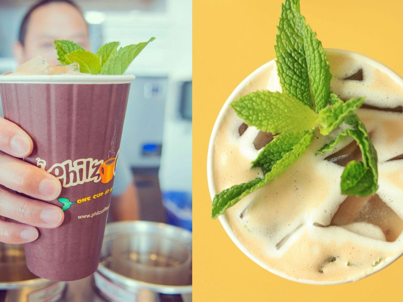 Food + Drink table cup food indoor Drink milkshake meal produce dish mojito dessert breakfast