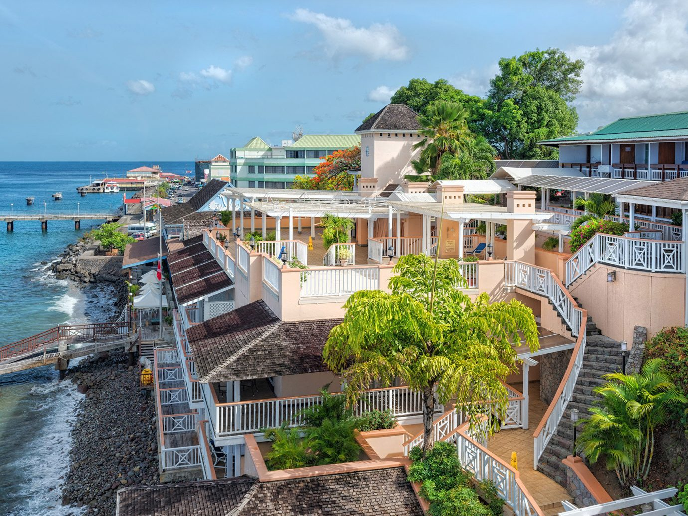 Trip Ideas sky outdoor property Town vacation Resort Coast tourism estate Sea Village bay caribbean several