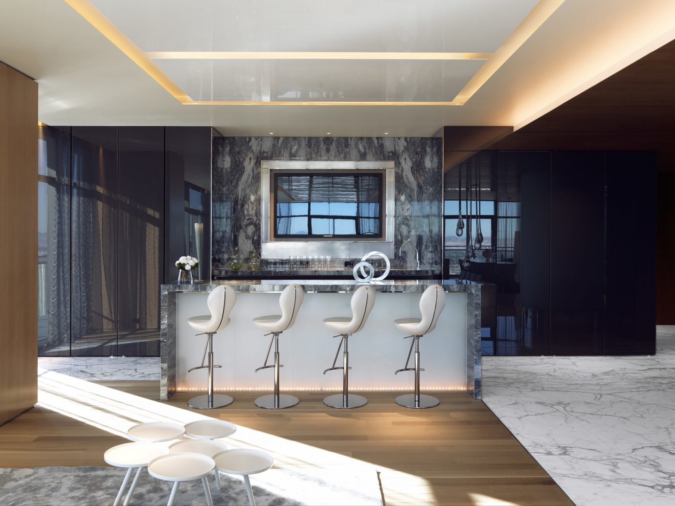 Private bar in the Bentel & Bentel Penthouse Suites, The Cosmopolitan of Las Vegas
