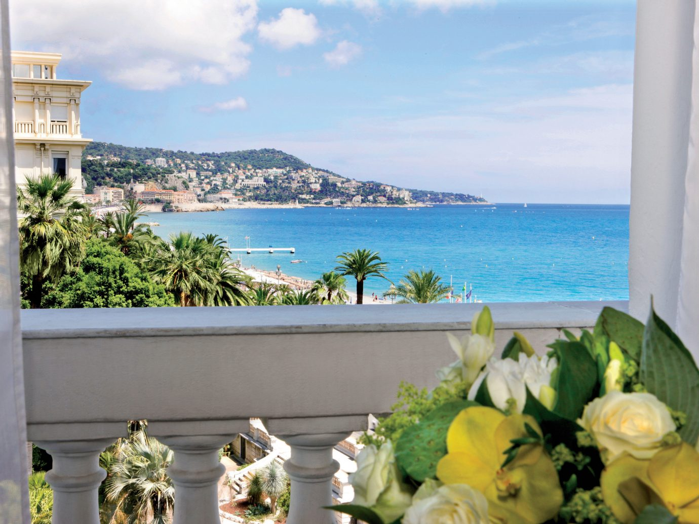 Hotels water property vacation flower estate Villa overlooking plant