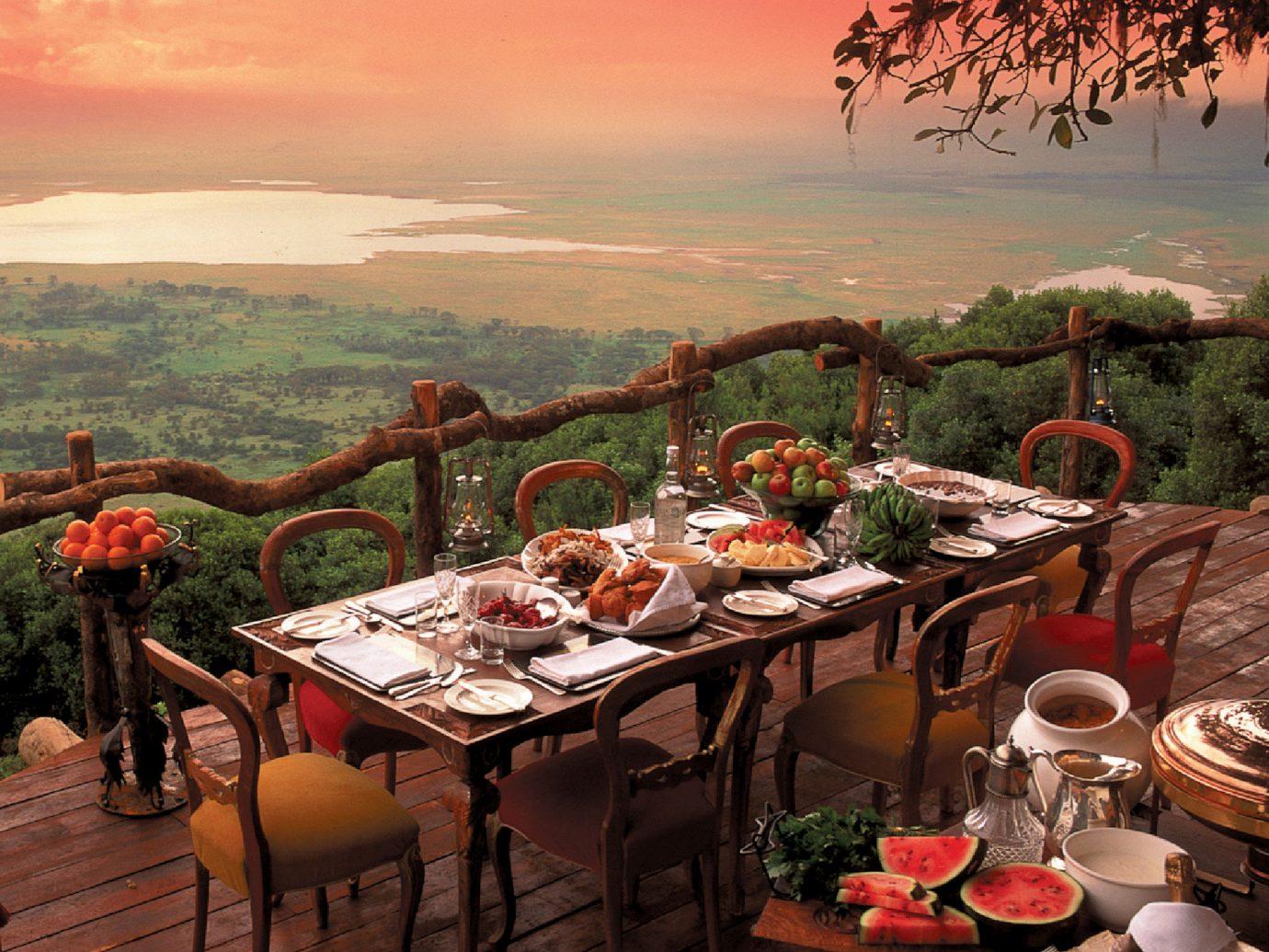 Restaurant at andBeyond Ngorongoro Crater Lodge, Tanzania
