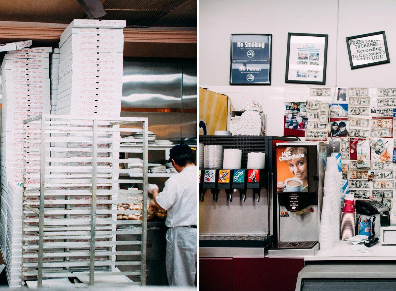 Food + Drink indoor room Boutique interior design retail Design cluttered