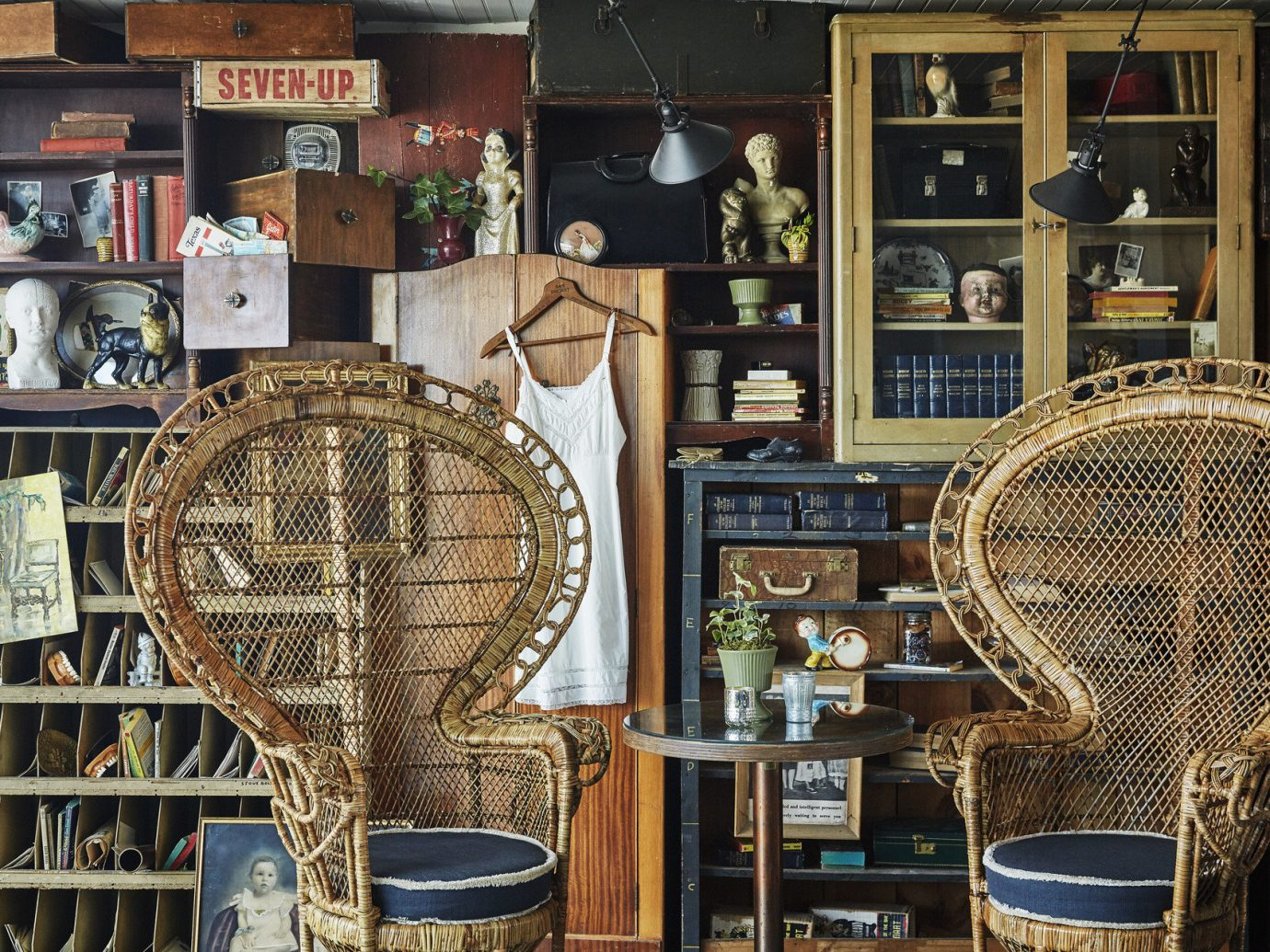 antiques artistic artsy Boutique Hotels chairs charming cozy decor detail furniture Hotels quaint quirky table Trip Ideas vintage indoor chair shelf art interior design ancient history tourist attraction