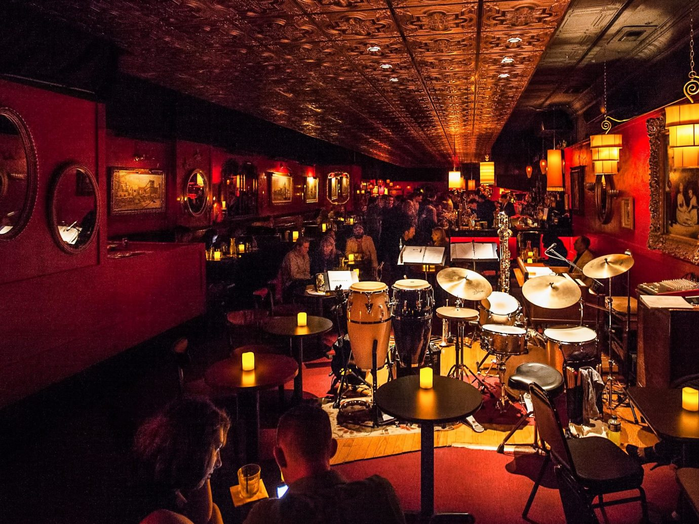 City Kansas City Midwest Trip Ideas indoor ceiling restaurant Bar pub tavern jazz club night interior design