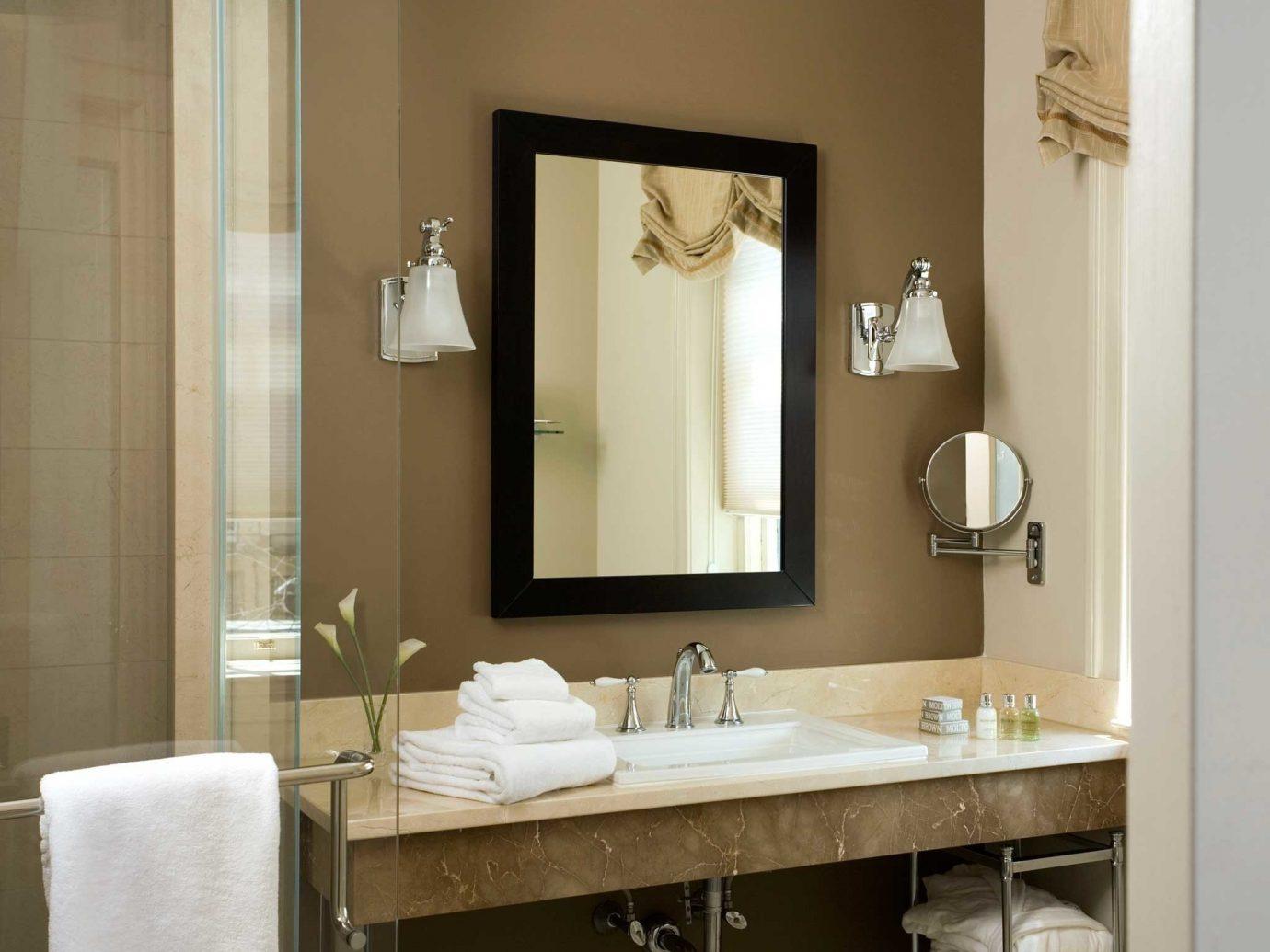 Bath Boutique Boutique Hotels Classic Elegant Historic Hotels Inn Philadelphia bathroom wall indoor mirror sink room towel interior design floor home plumbing fixture bathroom cabinet Design Modern
