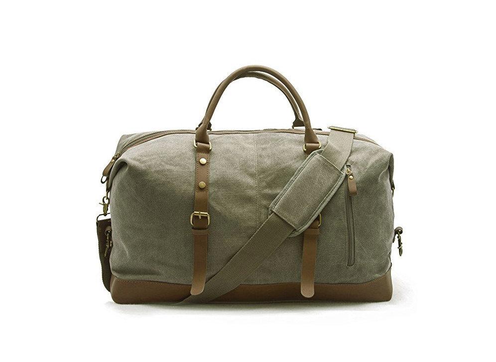 Style + Design luggage bag accessory suitcase handbag shoulder bag piece leather baggage case tan