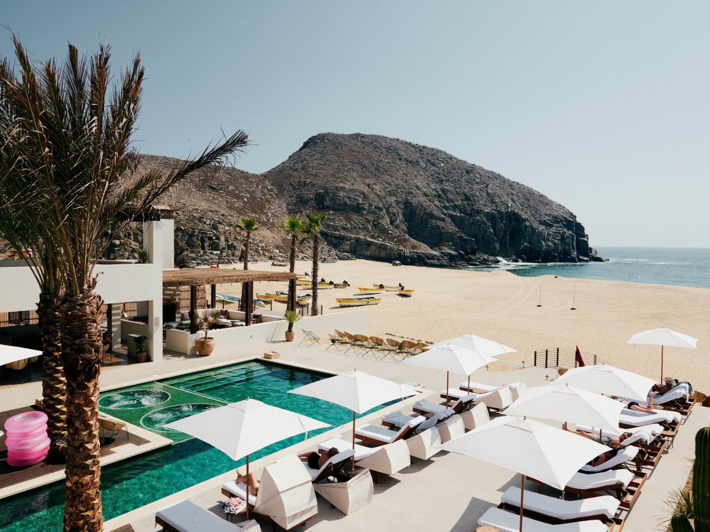 Beach Boutique Hotels Honeymoon Hotels Luxury Travel Mexico Romance Tulum sky outdoor Resort swimming pool vacation leisure hotel real estate Villa tourism Sea estate apartment