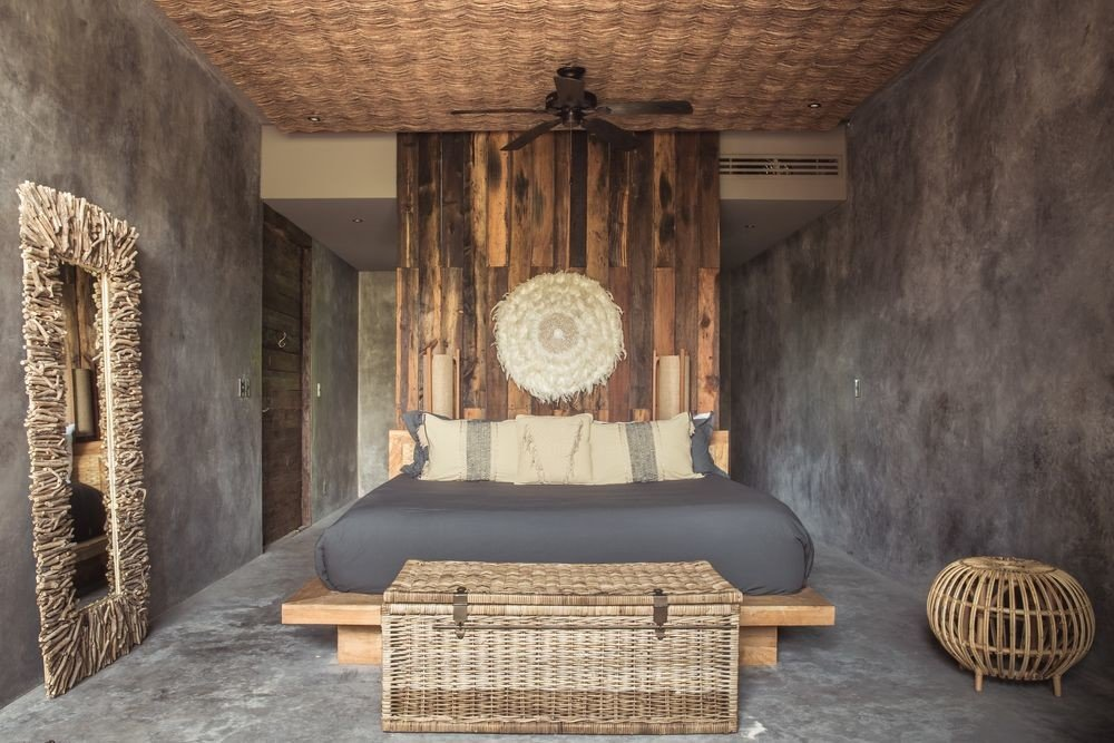 Boutique Hotels Hotels Mexico Tulum wall room interior design wooden ceiling furniture wood old flooring stone