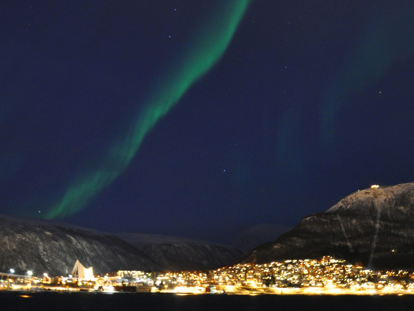 Trip Ideas outdoor aurora night atmosphere Night Sky