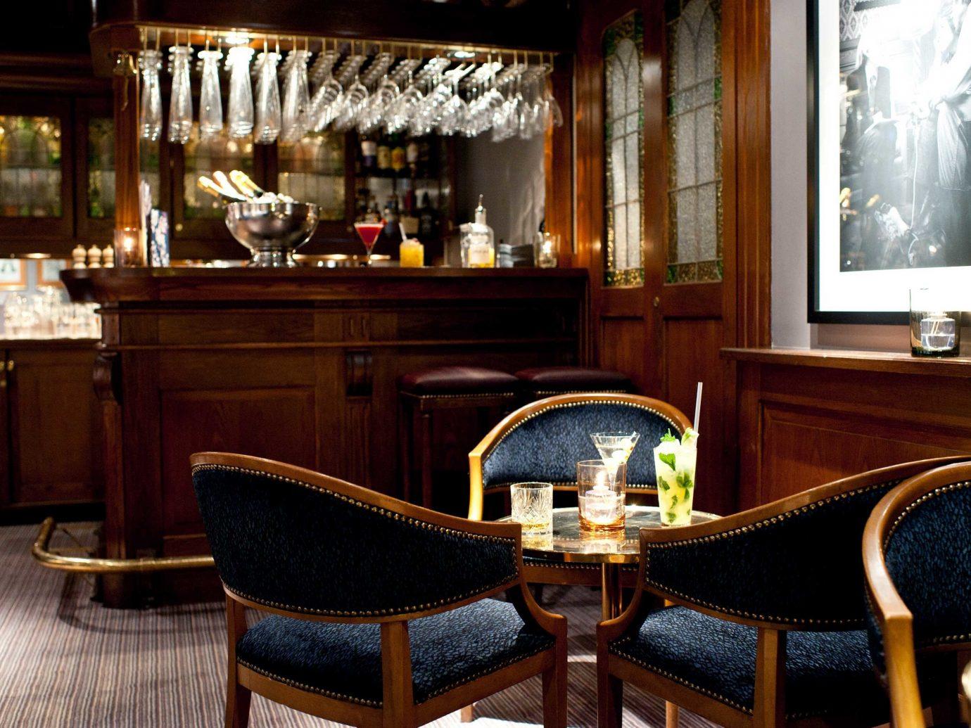 Bar Dining Drink Eat Elegant Hip Hotels Modern Stockholm Sweden chair indoor window room estate restaurant interior design recreation room dining table