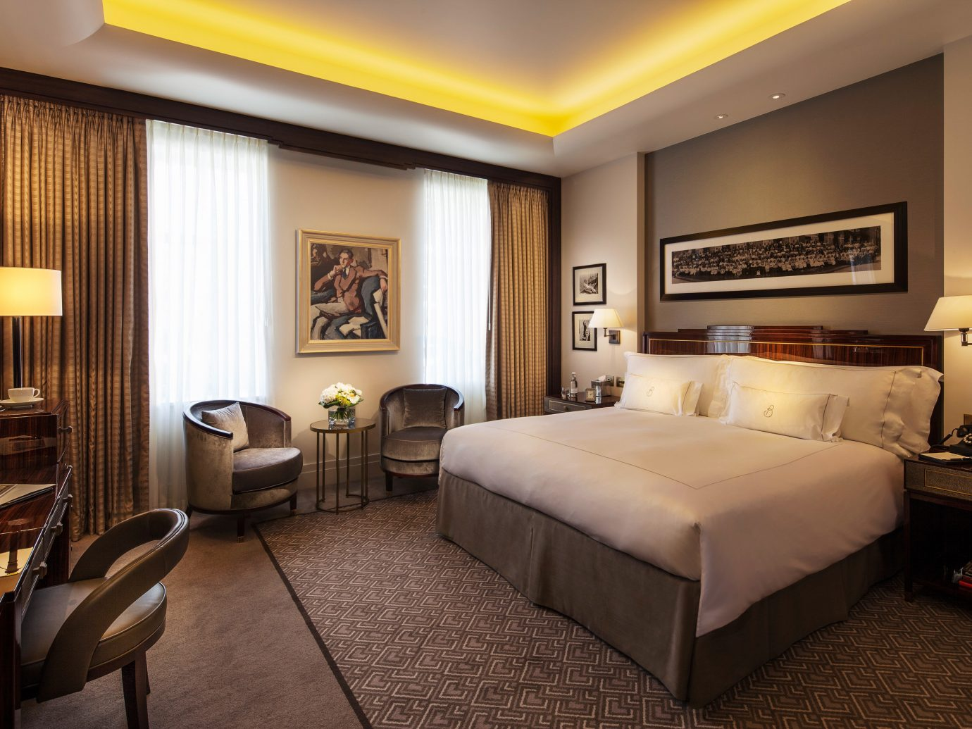 Bath Boutique Hotels Hotels indoor floor wall bed room ceiling hotel property Bedroom Suite interior design estate living room real estate condominium furniture several