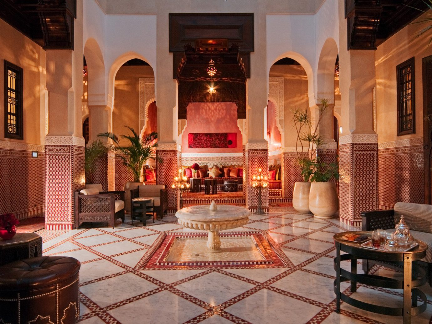 Hotels Lobby indoor estate interior design lighting palace mansion living room hacienda restaurant