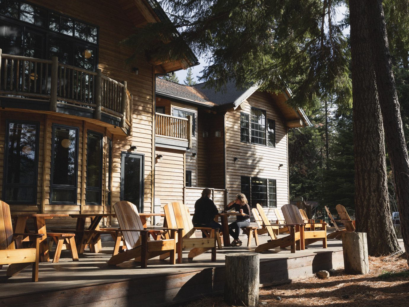 Hotels tree outdoor house wooden home wood furniture