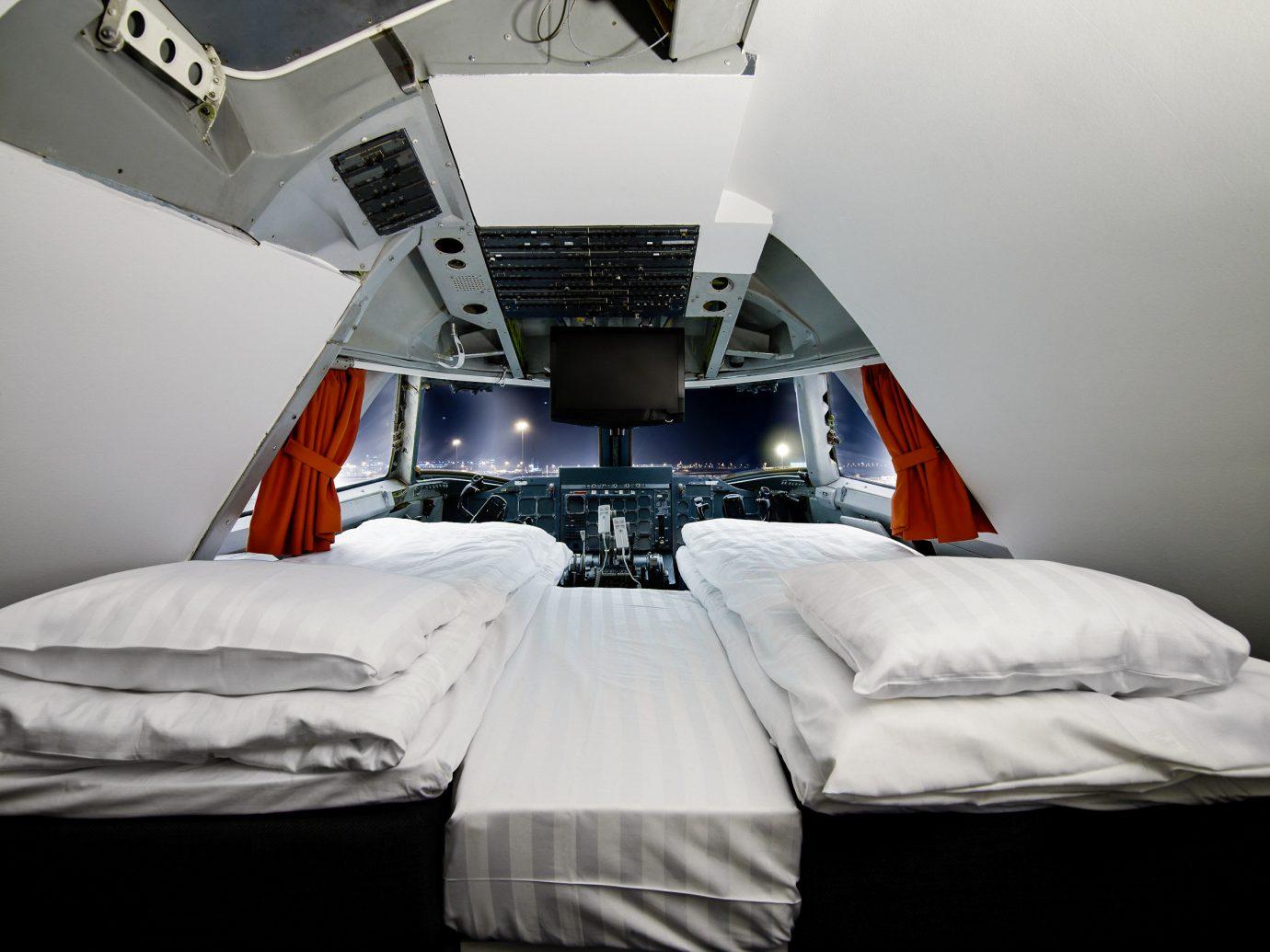 Boutique Hotels Sweden room bed Bedroom furniture product design interior design mattress daylighting