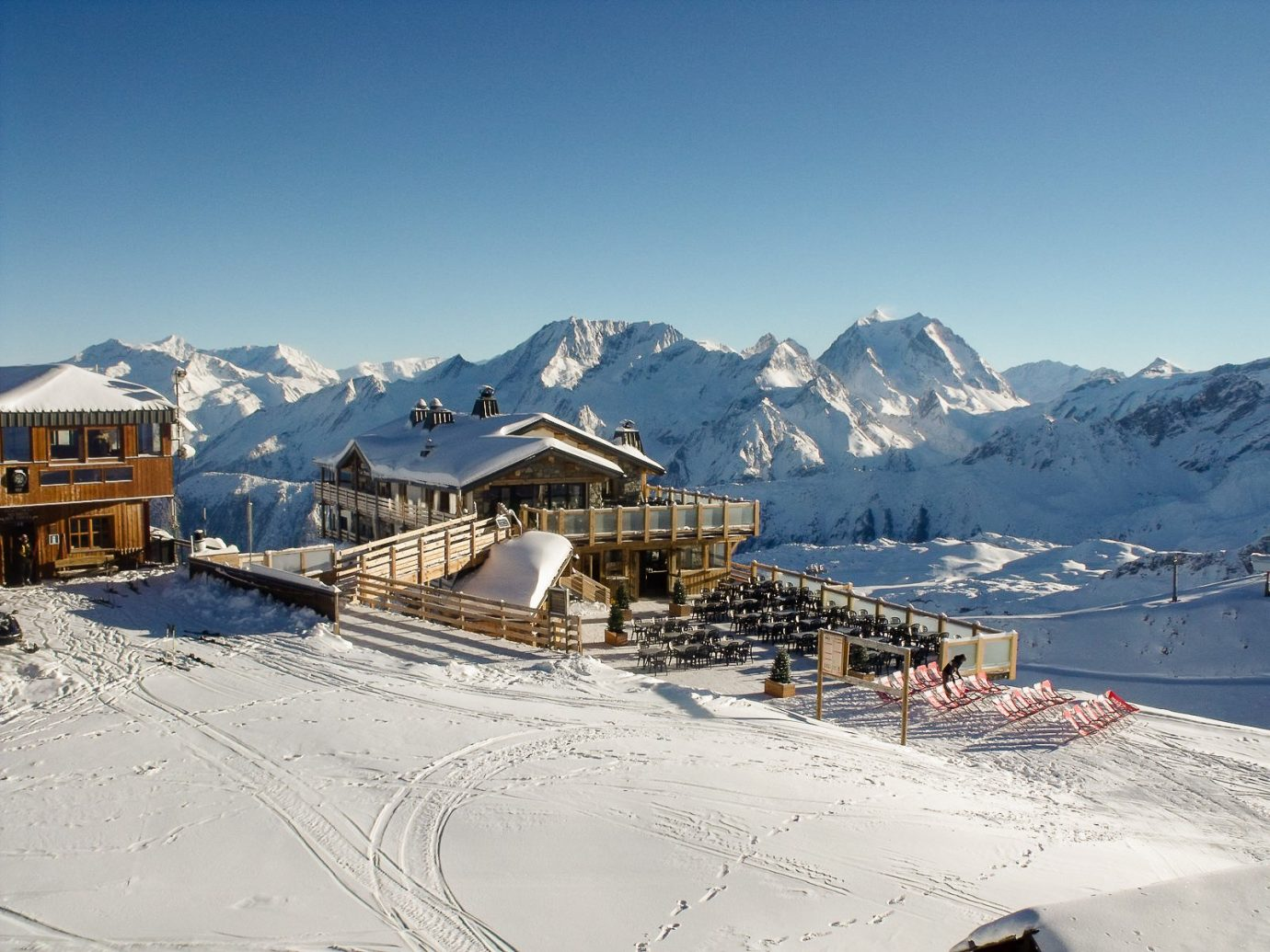 Exterior view of Le Panoramic, Chamonix, France
