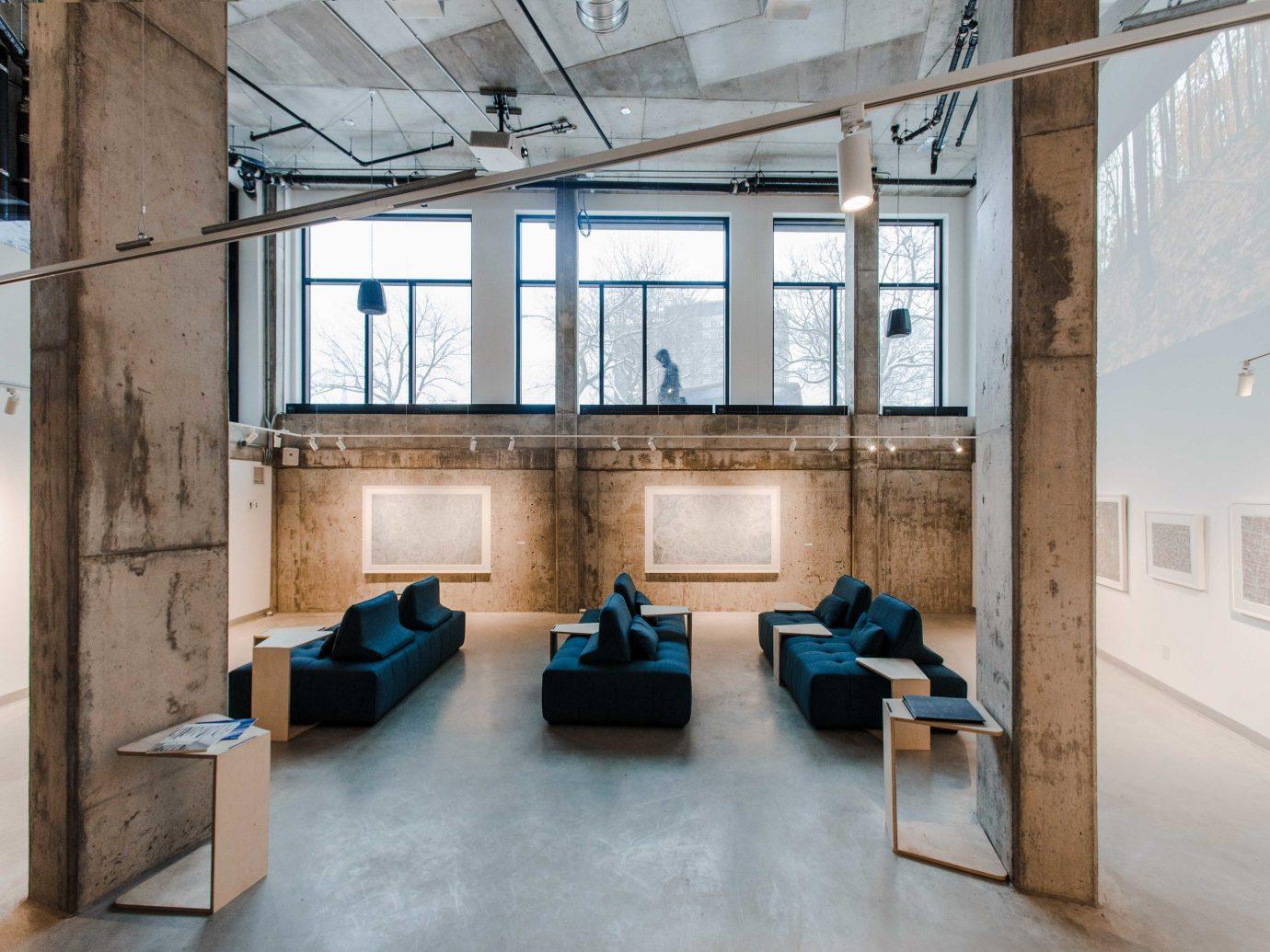 Canada Hotels Montreal Trip Ideas floor indoor window interior design loft daylighting building furniture